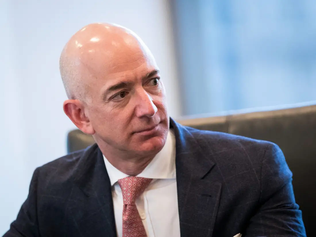Jeff Bezos shiny scalp